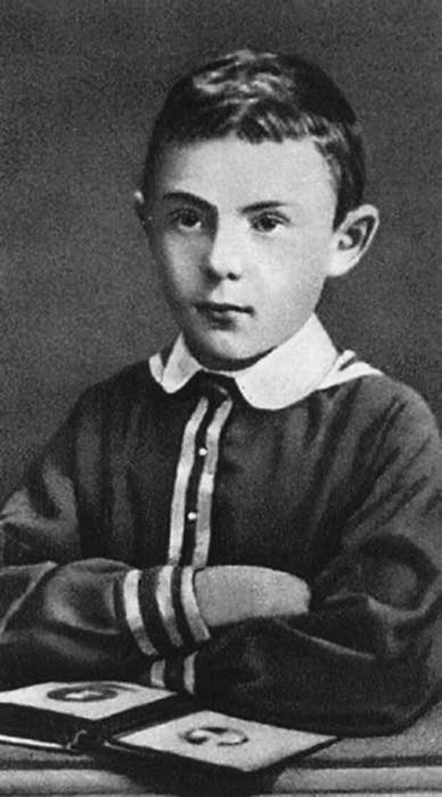 Михаил Пришвин в детстве. / Фото: www.park72.ru