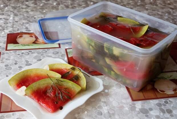 Моченые, соленые и маринованные  арбузы - 17 рецептов