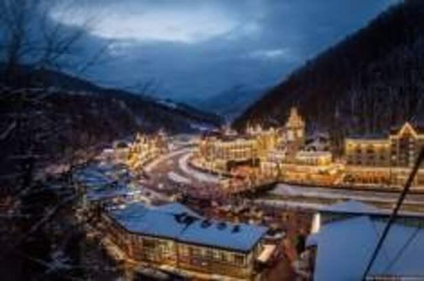 Специальный поезд начал курсировать из Москвы до горнолыжного курорта «Роза Хутор»