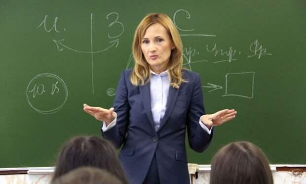 """Яровая предложила провести """"жесточайшую"""" ревизию качества знаний, предлагаемых школьникам"""