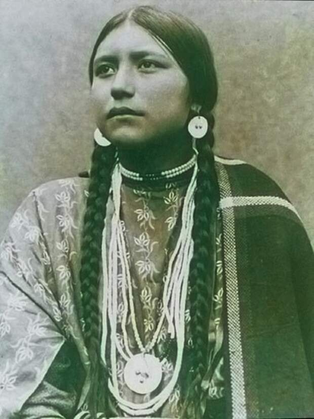 Североамериканские индианки
