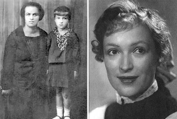 Клара Лучко в детстве и в юности | Фото: 24smi.org