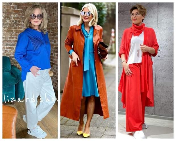 Как составить новый образ, чтобы выглядеть ярко и привлекательно: 12 примеров для женщин 50+