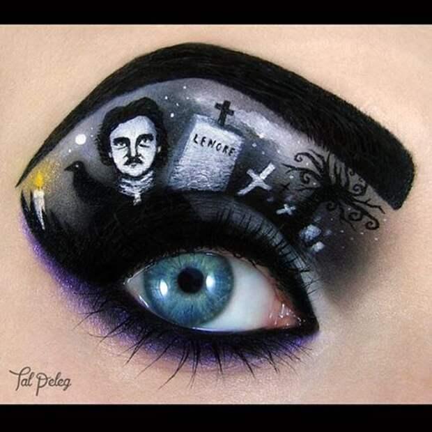 Художница превратила макияж в искусство