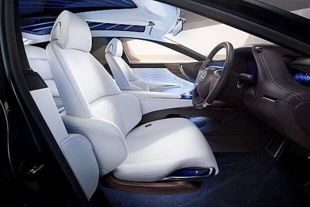 Новый Lexus LS одолеет конкурентов смелостью и водородом (ФОТО)