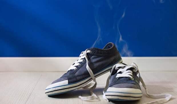 Избавляем обувь от неприятного запаха