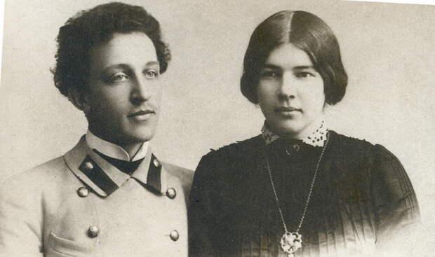 Александр Блок и Любовь Дмитриевна Менделеева