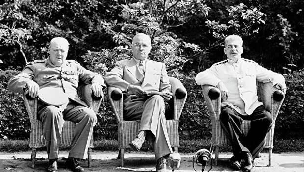 """Операция """"Пальма"""": как Сталин добирался до Потсдама"""