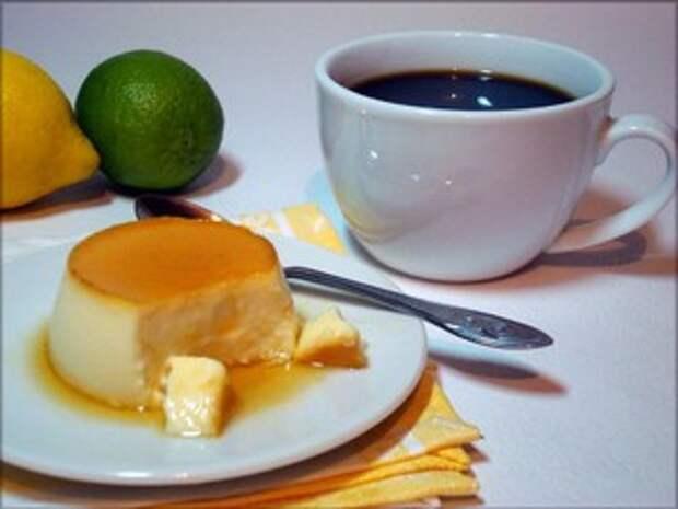 Нежнейший десерт Крем-карамель.