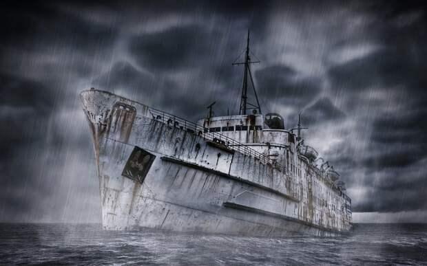 У берегов США обнаружили 9 кораблей-призраков