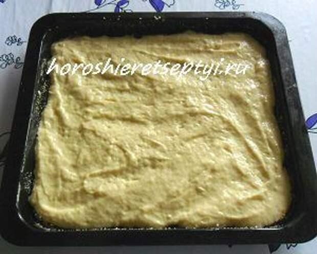 Пирог на кефире заливной