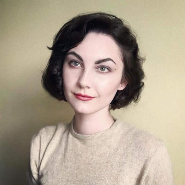 Гений перевоплощения: Обычная девушка примерила на себя 22 известных образа и покорила интернет