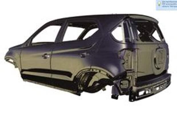 Изображения из патентной документации Chevrolet Niva