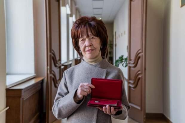 Профессор университета транспорта на Образцова получила звание «Заслуженный работник»