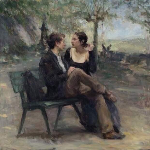 Реальная любовь в полотнах Рона Хикса
