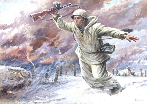 Горячий снег (Михаил Львов)