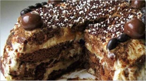 Тортик без выпечки