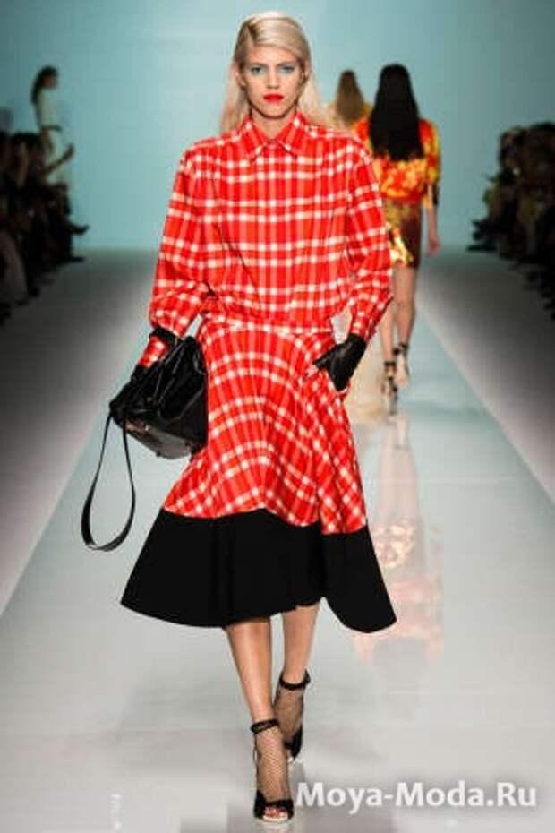 Модные юбки весна-лето 2015 Emanuel Ungaro
