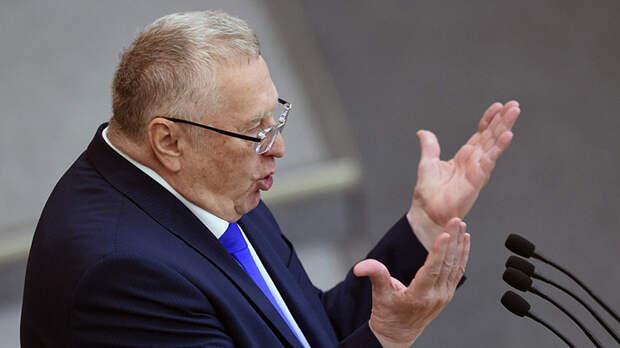 Жириновский предрек «достойный конец Украины»