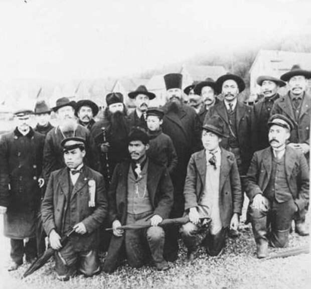 Фотография поселенцев