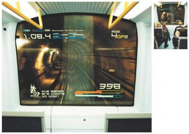 Компьютерные игры спустились в метро