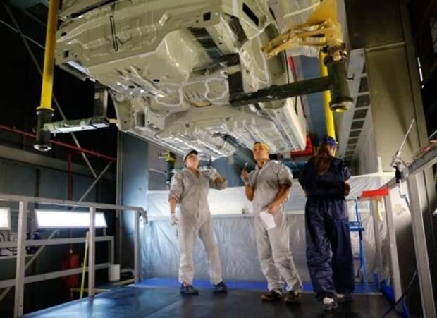 Завод PSA Peugeot Citroen и Mitsubishi в Калуге остановил производство