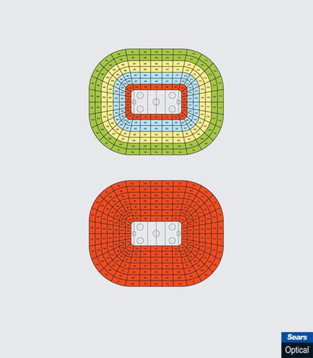 Когда все места на стадионе - лучшие