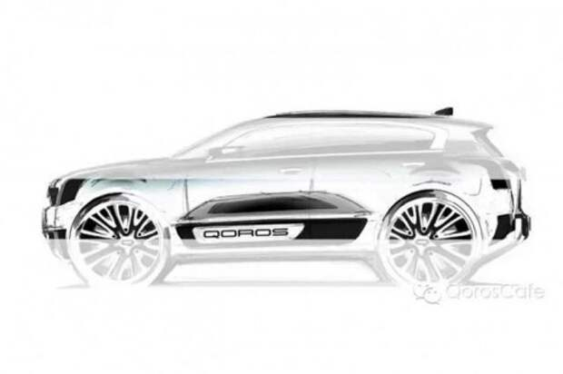 Китайский Qoros показал новый кроссовер 2 SUV