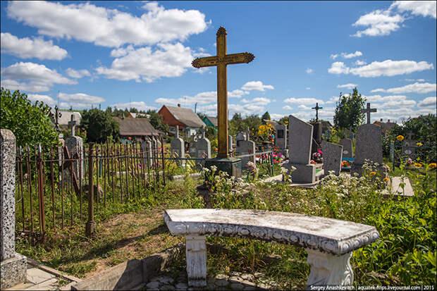 На могиле Мюнхгаузена