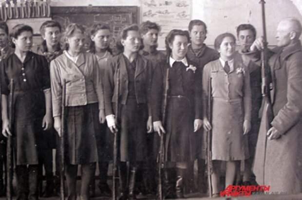 Школьники Казани 1944-1945 годов.