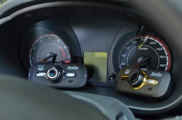 Обзор-сравнение пары регистраторов: AdvoCam-FD8 Gold-GPS и Black-GPS