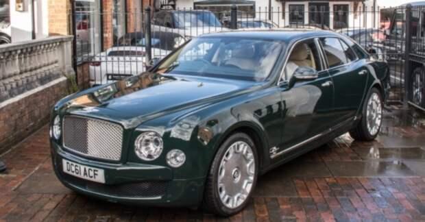 Bentley британской королевы Елизаветы II продали почти за 19 миллионов рублей