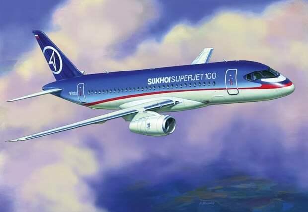 Еще один Suhoi Superjet-100 вернулся в Шереметьево, не долетев до Владимира