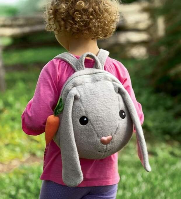 Рюкзак зайка