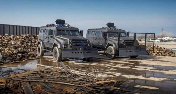 Inkas Sentry MPV - канадцы сделали многоцелевой броневик