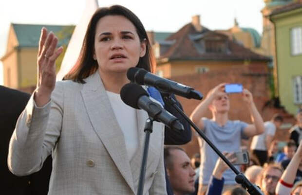 Тихановская призвала США ввести против Белоруссии «самые сильные» санкции
