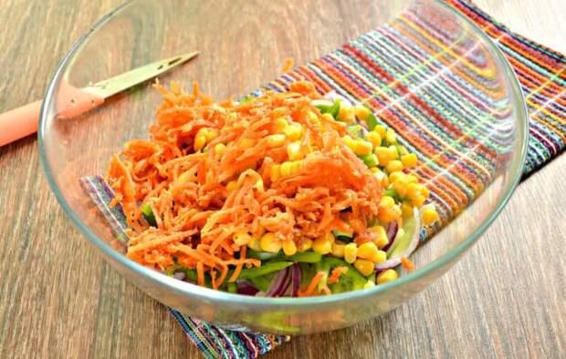 Весенний салат Крокусы. Вкусное и праздничное блюдо 2