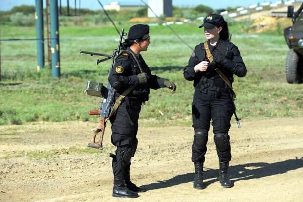 Степные амазонки: Девушки из армии Казахстана армия, девушки, казахстан