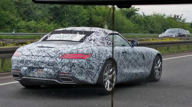 Mercedes-AMG GT «снимает шляпу»