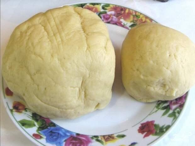 Пирог на маргарине с вареньем