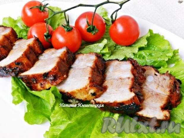 Вкусная и ароматная свинина по-чешски готова.
