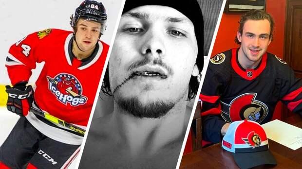 Страшная травма с разрывом щеки, хет-трик Соколова, трудности молодежи из КХЛ. Как дела у русских в АХЛ