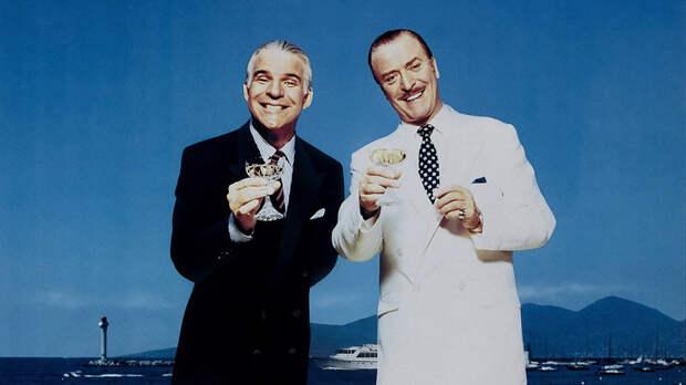 Стив Мартин и Майкл Кейн во всей красе. -  Отпетые Мошенники