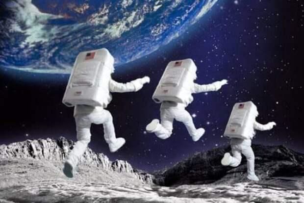 Интересные факты о Луне космос, луна, факты