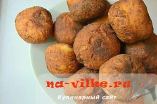 Калабрийские картофельные пончики