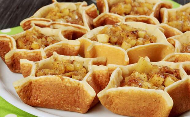 Превращаем блины в яблочный десерт, готовим как на Востоке