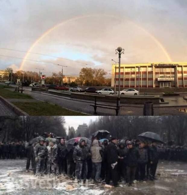 """Фотография «300 запорожцев против """"Правого сектора""""» признана одной из лучших в мире"""
