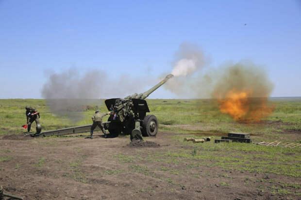 Оборону Крыма усилили гаубицами 2А65 МСТА-Б