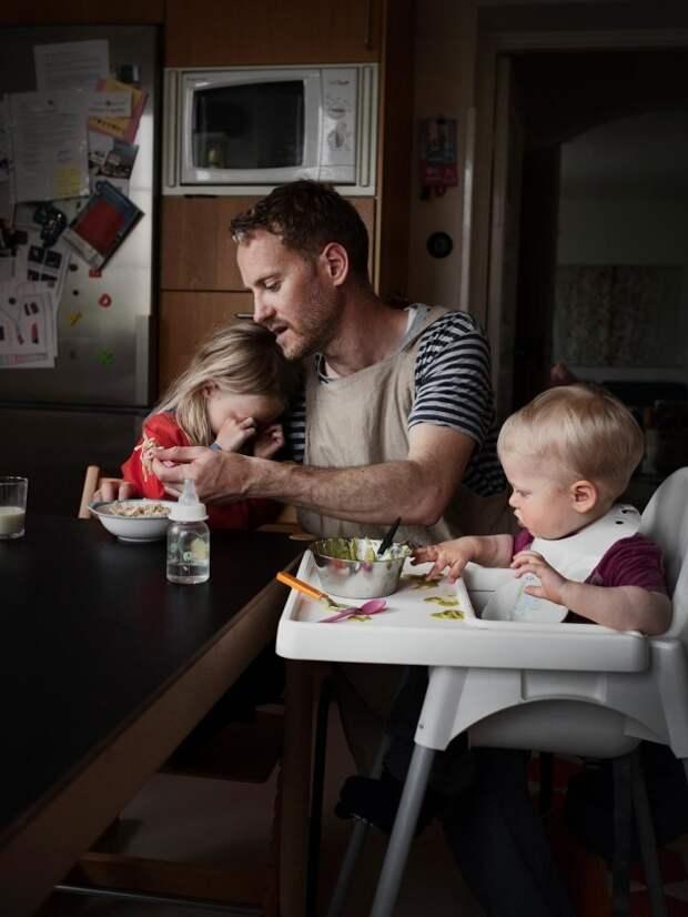 Шведские отцы