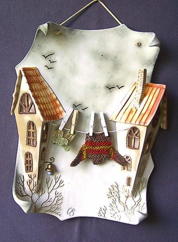 чудесные домики от Светланы  Виноградской (керамика)